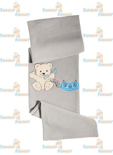 Telefonlu Ayıcık Nakışlı Bebek Poları-Sunny Funny